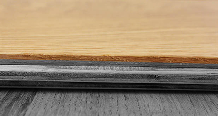 Loft Golden Smoked Oak Brushed & Lacquered Engineered Wood Flooring - Descriptive 6