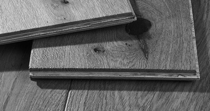 Loft Golden Smoked Oak Brushed & Lacquered Engineered Wood Flooring - Descriptive 7