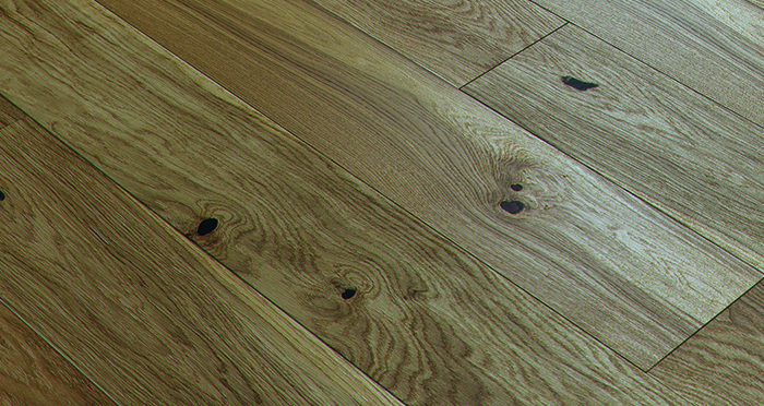 Trade Select Natural Brushed & Oiled 14mm x 180mm Engineered Wood Flooring - Descriptive 1