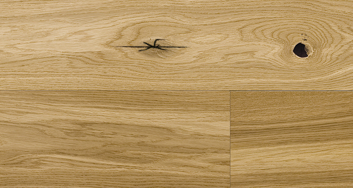 Trade Select Natural Brushed & Oiled 14mm x 180mm Engineered Wood Flooring - Descriptive 3