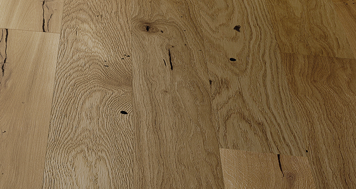 Trade Select 14mm x 155mm Natural Brushed & Oiled Engineered Wood Flooring - Descriptive 1