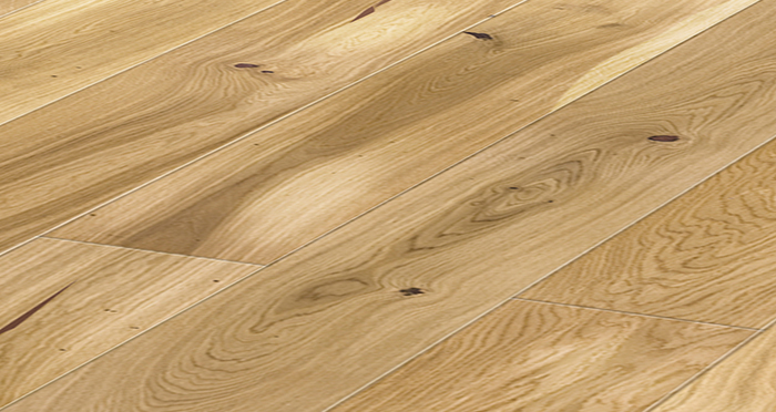 Trade Select Natural 14mm x 130mm Brushed & Oiled Engineered Wood Flooring - Descriptive 1
