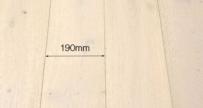 Frozen Oak Brushed & Lacquered Engineered Wood Flooring - Descriptive 3