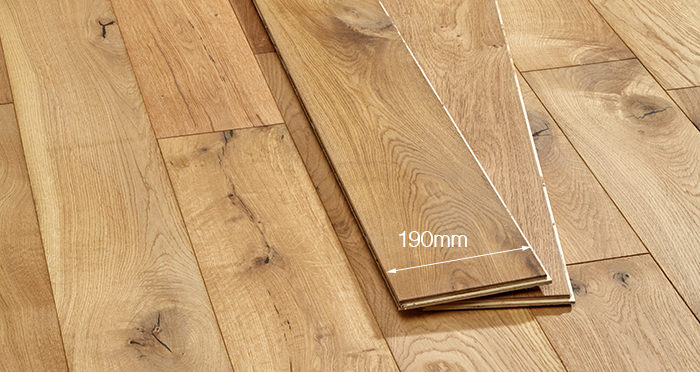 Manhattan Natural Oak Brushed & Oiled Engineered Wood Flooring - Descriptive 4