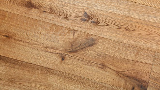 Trade Select Natural Brushed & Oiled Engineered Wood Flooring 190mm - Descriptive 5