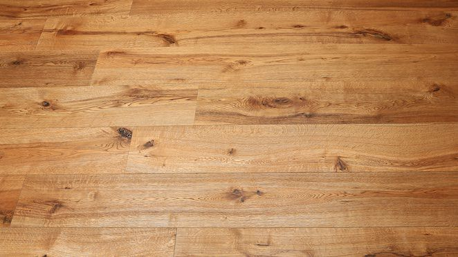 Trade Select Natural Brushed & Oiled Engineered Wood Flooring 190mm - Descriptive 6