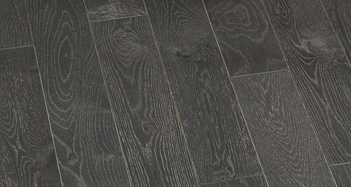 Studio Graphite Oak Brushed & Oiled Engineered Wood Flooring - Descriptive 1