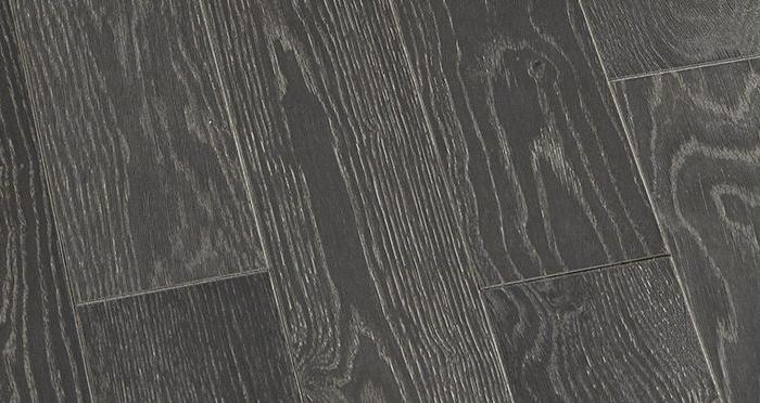 Studio Graphite Oak Brushed & Oiled Engineered Wood Flooring - Descriptive 3