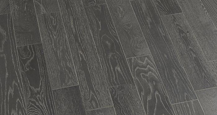 Studio Graphite Oak Brushed & Oiled Engineered Wood Flooring - Descriptive 4