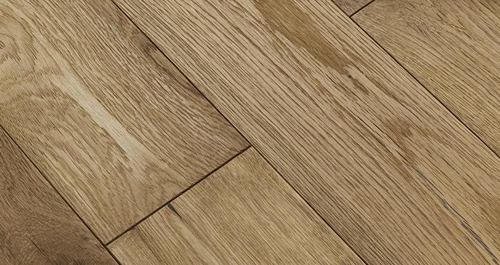 Loft Natural Oak Brushed & Oiled Engineered Wood Flooring - Descriptive 1