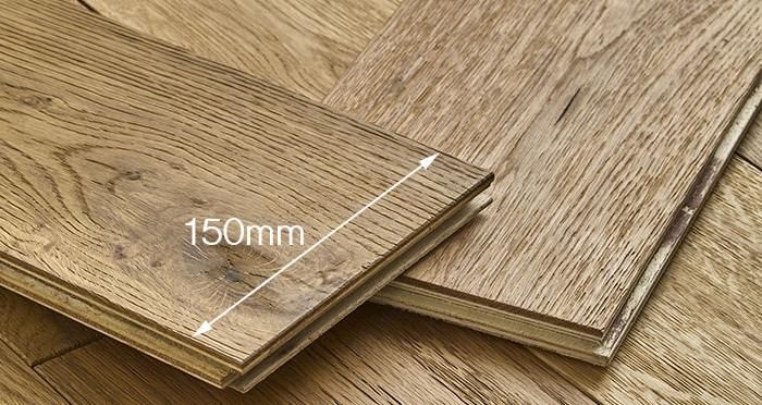 Loft Natural Oak Brushed & Oiled Engineered Wood Flooring - Descriptive 4