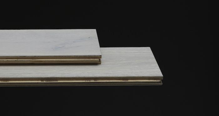 Frozen Oak Brushed & Lacquered Engineered Wood Flooring 150mm - Descriptive 1