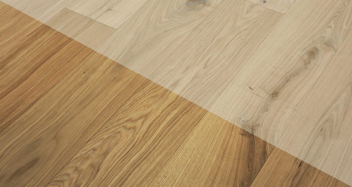 Grande Unfinished Oak Brushed & Oiled Engineered Wood Flooring - Descriptive 2