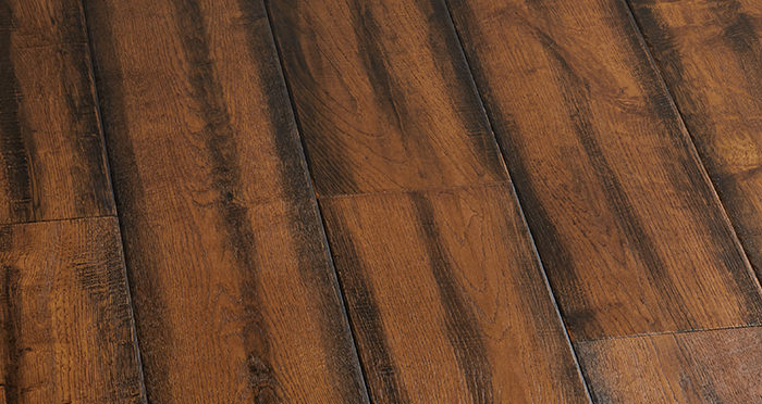 Bronzed Old French Oak Lacquered Engineered Wood Flooring - Descriptive 6