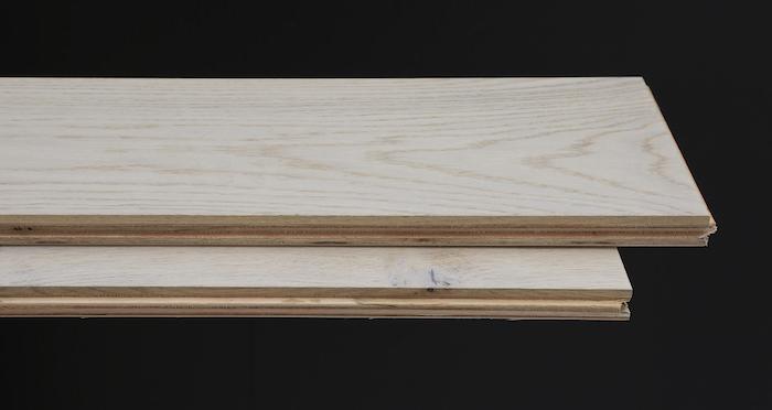 Porcelain Oak Lacquered Engineered Wood Flooring - Descriptive 1