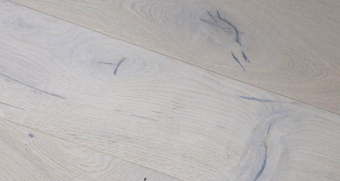 Porcelain Oak Lacquered Engineered Wood Flooring - Descriptive 2