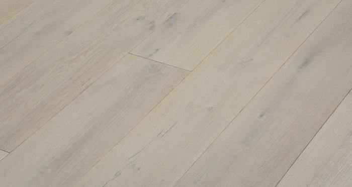 Polar Oak Brushed & Wax Oiled Engineered Wood Flooring - Descriptive 6