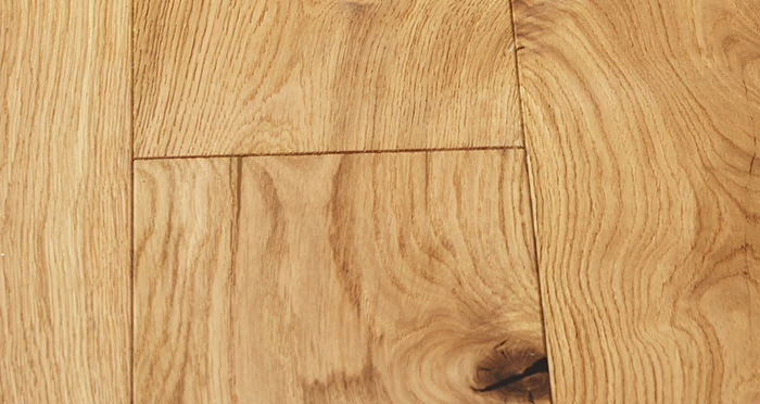 Farmhouse Natural Oak Brushed & Oiled Engineered Wood Flooring - Descriptive 4