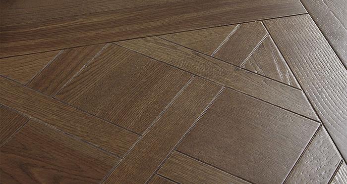Loire Valley Vintage Oak Brushed & Oiled Versailles Tile Engineered Wood Flooring - Descriptive 1