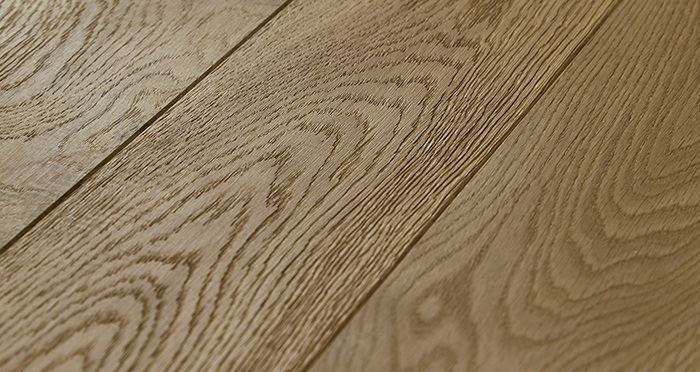 Penthouse Natural Oak Brushed & Oiled Engineered Wood Flooring - Descriptive 1