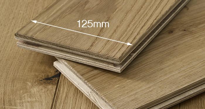 Penthouse Natural Oak Brushed & Oiled Engineered Wood Flooring - Descriptive 3