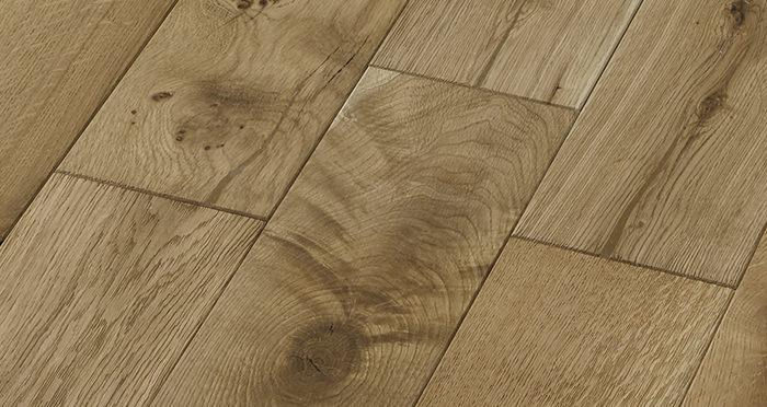 Penthouse Natural Oak Brushed & Oiled Engineered Wood Flooring - Descriptive 4