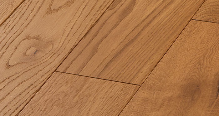 Deluxe Golden Oak Solid Wood Flooring - Descriptive 4