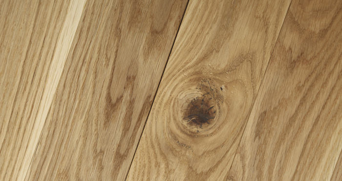 Park Avenue Chevron Natural Oak Brushed & Oiled Solid Wood Flooring - Descriptive 2