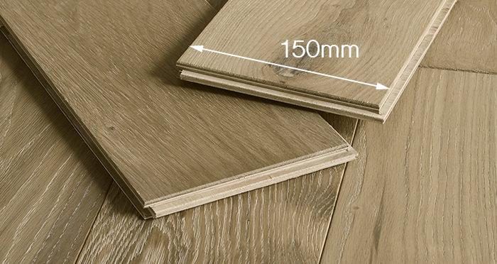 Loft Bavarian Oak Brushed Oiled & Smoked Engineered Wood Flooring - Descriptive 4