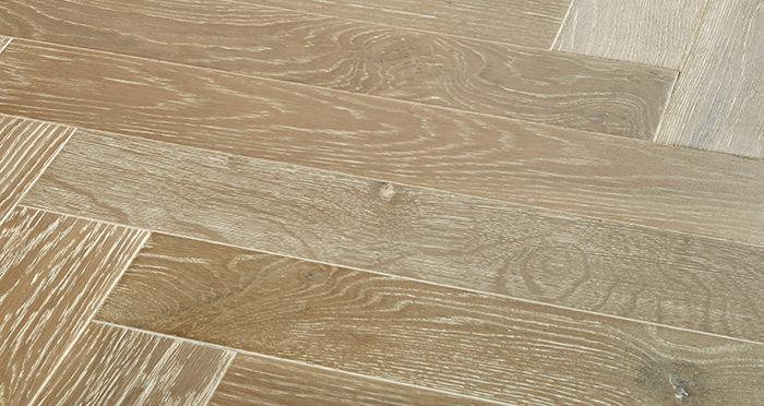 Branscombe Heritage Smoked Herringbone Oak Engineered Wood Flooring - Descriptive 1