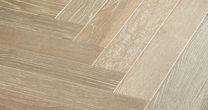 Branscombe Heritage Smoked Herringbone Oak Engineered Wood Flooring - Descriptive 2