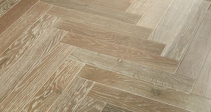 Branscombe Heritage Smoked Herringbone Oak Engineered Wood Flooring - Descriptive 3