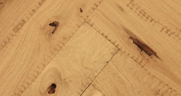 Unfinished Parquet Oak Solid Wood Flooring - Descriptive 4