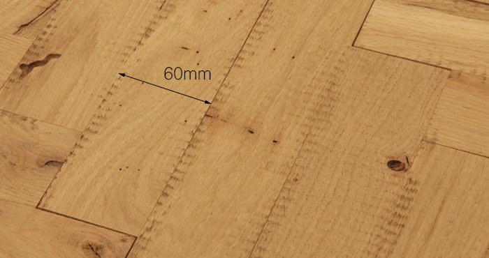 Unfinished Parquet Oak Solid Wood Flooring - Descriptive 5