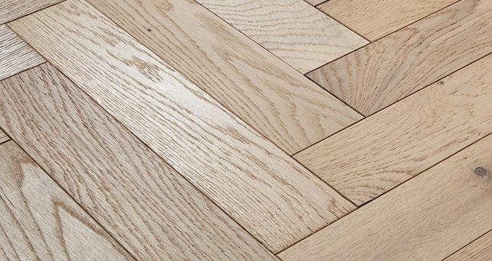 Oxford Herringbone Bavarian Oak Engineered Wood Flooring - Descriptive 1
