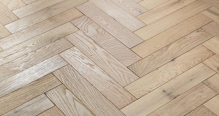 Oxford Herringbone Bavarian Oak Engineered Wood Flooring - Descriptive 2