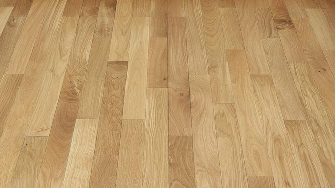 Classic Oak Natural Brushed & Oiled Solid Wood Flooring - Descriptive 2