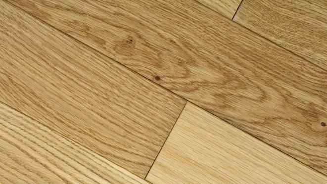 Classic Oak Natural Brushed & Oiled Solid Wood Flooring - Descriptive 4