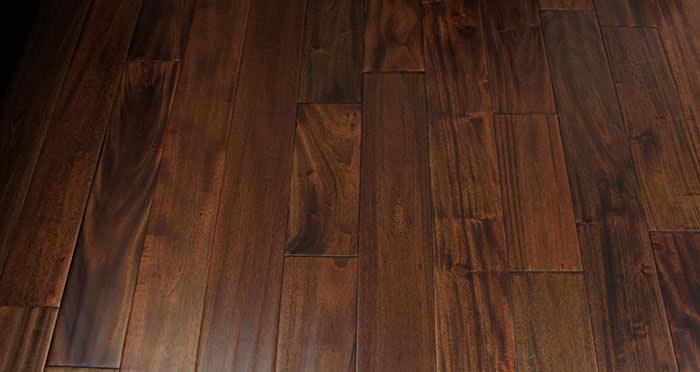 Antique Handscraped Mahogany Lacquered Solid Wood Flooring - Descriptive 4