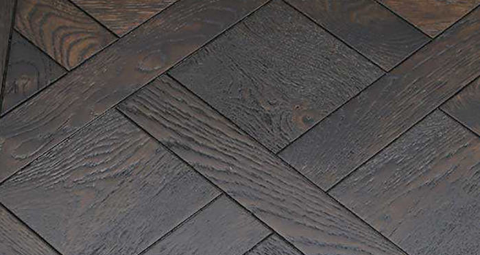 Colmar Smoked Oak Brushed & Oiled Versailles Tile Engineered Wood Flooring - Descriptive 3