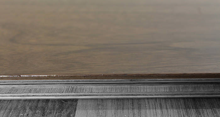 American Black Walnut Lacquered Engineered Wood Flooring - Descriptive 2