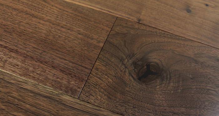 American Black Walnut Lacquered Engineered Wood Flooring - Descriptive 4