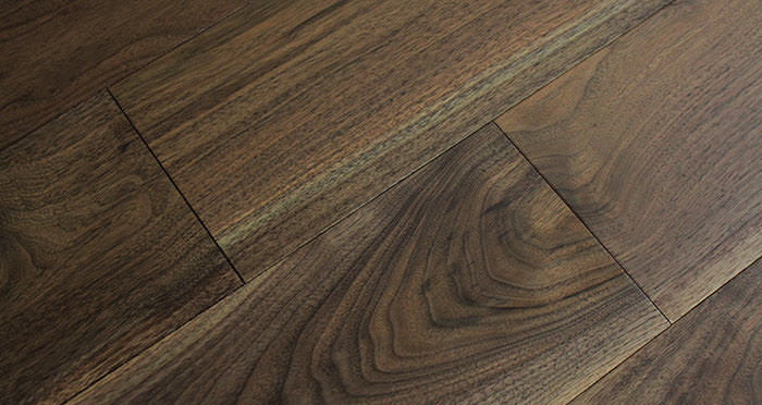American Black Walnut Lacquered Engineered Wood Flooring - Descriptive 5