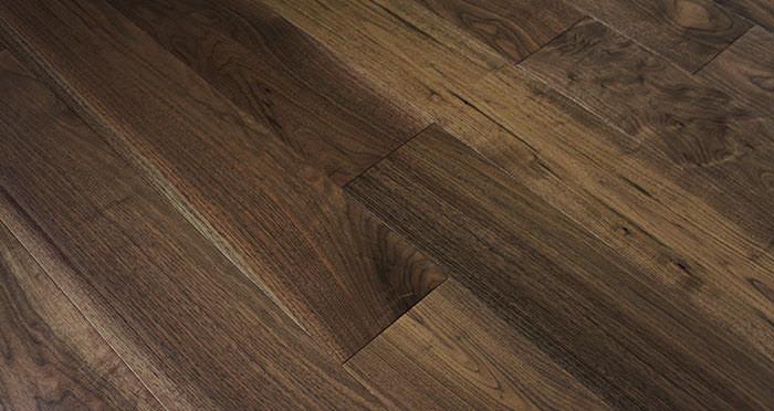 American Black Walnut Lacquered Engineered Wood Flooring - Descriptive 6