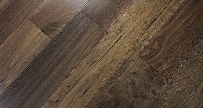 American Black Walnut Lacquered Engineered Wood Flooring - Descriptive 7