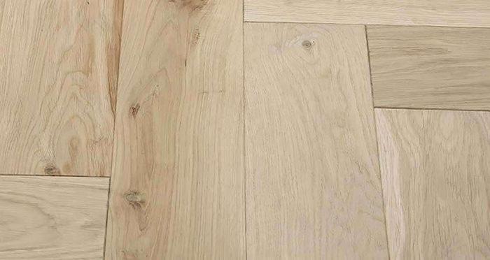 Unfinished Luxury Parquet Oak Solid Wood Flooring - Descriptive 1