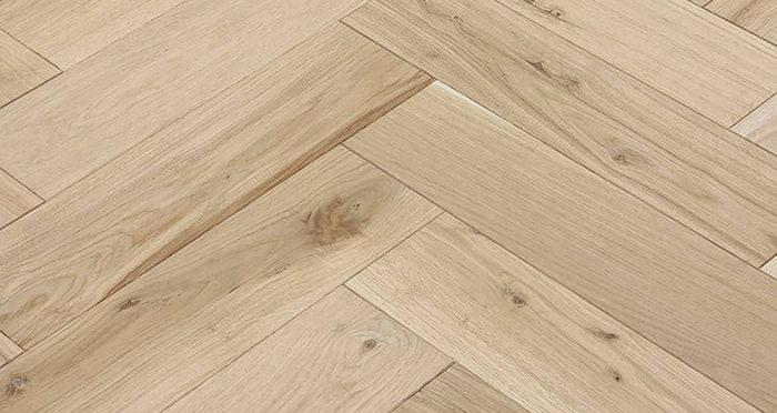 Unfinished Luxury Parquet Oak Solid Wood Flooring - Descriptive 3