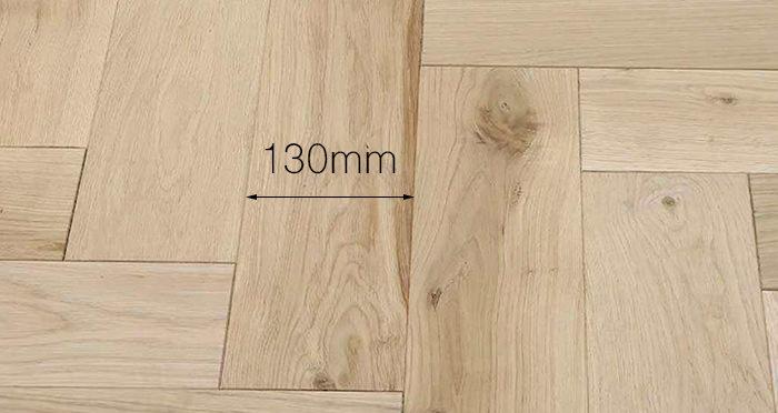 Unfinished Luxury Parquet Oak Solid Wood Flooring - Descriptive 4
