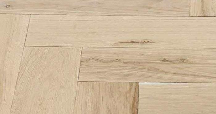 Unfinished Luxury Parquet Oak Solid Wood Flooring - Descriptive 5