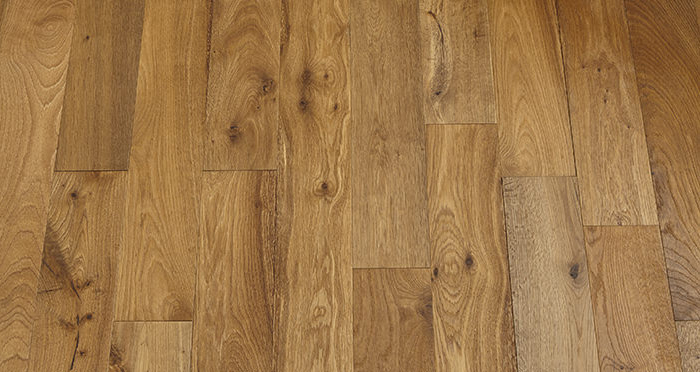 Studio Cottage Oak Brushed & Oiled Engineered Wood Flooring - Descriptive 2